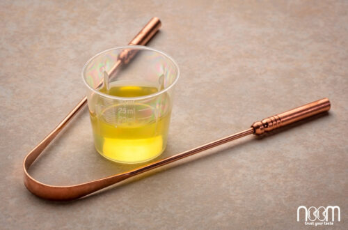 súc miệng bằng dầu mè